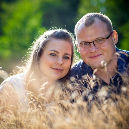 Agata i Mateusz - sesja narzeczeńska